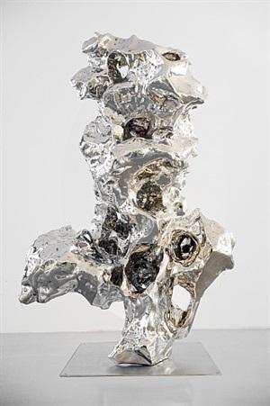 artificial rock no. 123 by zhan wang