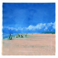 cloud beach (blue) by isca greenfield-sanders