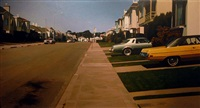 near ocean avenue by robert bechtle