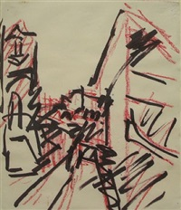 study: for the studios by frank auerbach