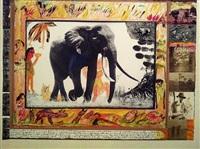 ahmed, elephant by peter beard