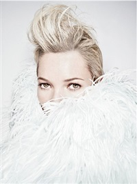 furry kate quiff by rankin