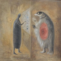 badgers burrow by leonora carrington
