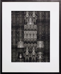 untitled inkblot drawing (ct 1575) by bruce conner