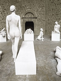 vb62.028.nt santa maria dello spasimo, palermo, italy by vanessa beecroft