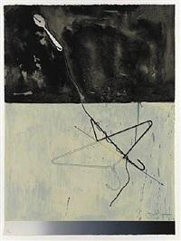 coat hanger and spoon by jasper johns