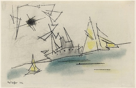 art cologne by lyonel feininger