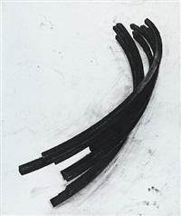 effondrement: arcs by bernar venet