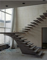 buffalo, new york (stairs with broken window) by alec soth