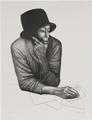 cartas by elizabeth catlett
