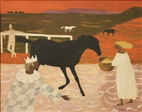 the black horse by mary fedden