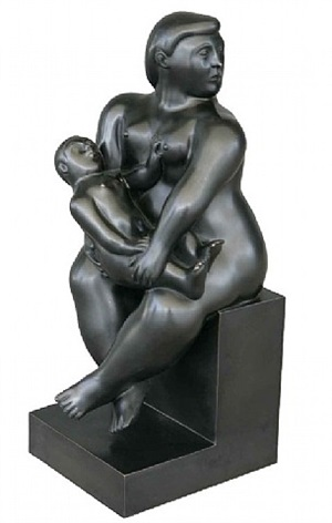 maternita by fernando botero