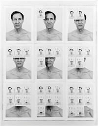 untitled (nine polaroids) by william anastasi