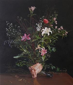 flowers/chicken by matthew mcconville