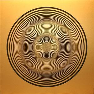elliptical series c: black on gold by francis celentano