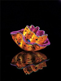 brandywine macchia pair studio edition # 527.cw2m.13 by dale chihuly