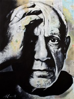 picasso by andré monet
