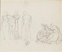 figural study by sir lawrence alma-tadema