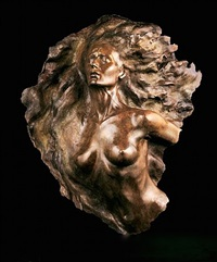 ex nihilo, fragment no. 2, (full scale) by frederick hart