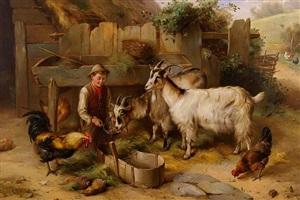 feeding time by edgar hunt