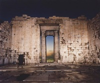 parthenon interior (portal) by richard misrach