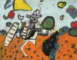 phantom horse by alan davie