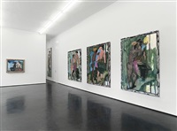 installationsansicht/ installation view by markus lüpertz