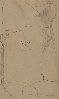 portrait de yan by amedeo modigliani