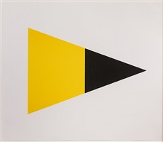 black/yellow by ellsworth kelly