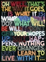 oh well by mel bochner