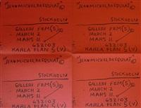 galleri fem(5) by jean-michel basquiat