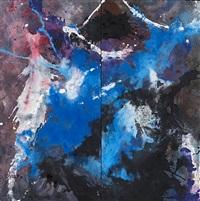 geteiltes blau by fred thieler