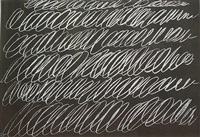 8 odi di orazio; series i (from the portfolio of 8) by cy twombly