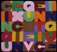 cinque x cinque=venticinque by alighiero boetti