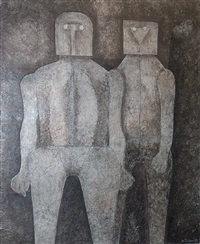 dos hermanos (two brothers) by rufino tamayo