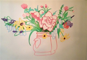 wildflower bouquet by tom wesselmann
