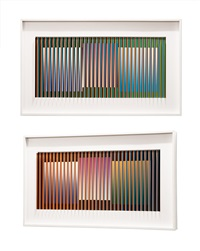 physichromie nº 1.324 by carlos cruz-diez