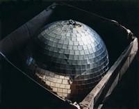 disco ball in cardboard box, conn. by lisa kereszi