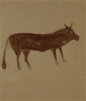 brown bull by bill traylor