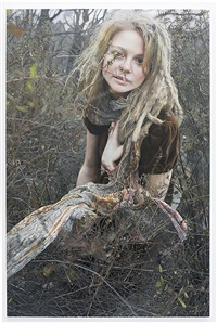 priscilla with vines by yigal ozeri
