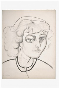 portrait of maya picasso by françoise gilot