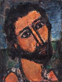 saint-jean baptiste by georges rouault