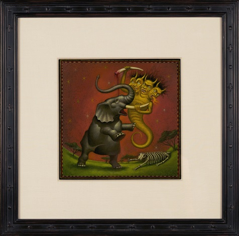 elephant demon by mark ryden
