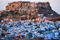 jodhpur cityscape by steve mccurry