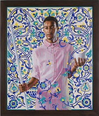 emperor napoleon i, 1912-1956 by kehinde wiley