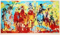 stretch stampede by leroy neiman