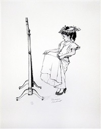 dressing up by norman rockwell