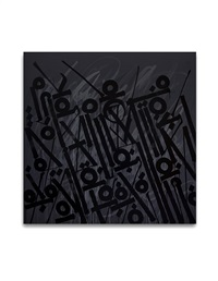 sensations of a black line by retna