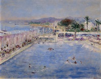 palm beach à cannes by lucien adrion