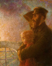 les émigrés russes (the russian emigrants) by lucien lévy-dhurmer